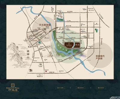 金鹏玲珑湾东院区位图