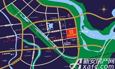 利华世纪新城区位图