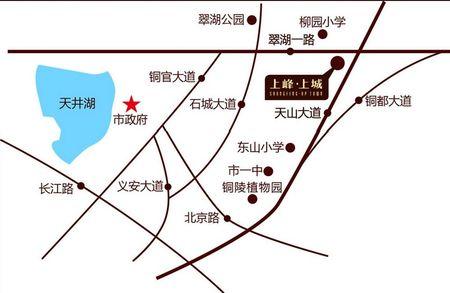 上峰上城交通图