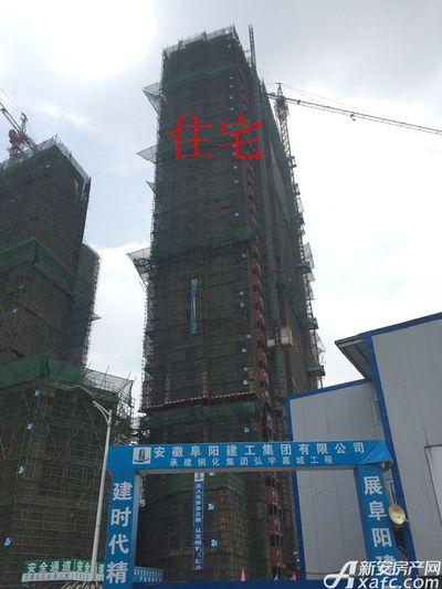 铜化弘宇嘉城住宅6月进度图(2017.6.7)