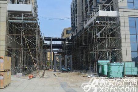 银通国际广场工程进度