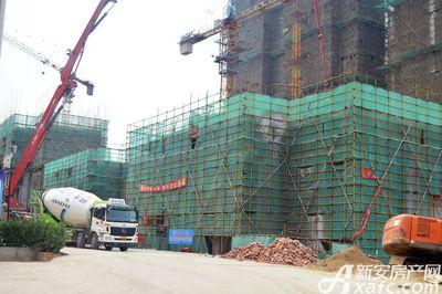 聚泽园·淮海学府6#工程进度(2017.6)