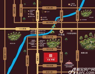 万鑫御园交通图