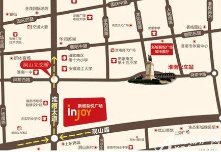 新城吾悦广场交通图