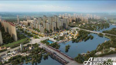古井悦湖城整体鸟瞰图