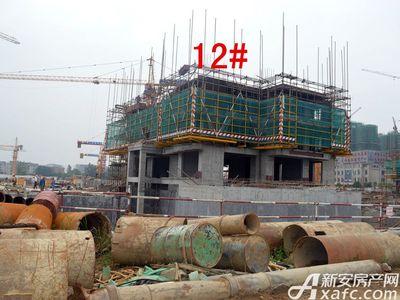 宜秀蓝湾12#工程进度(2017.6.14)