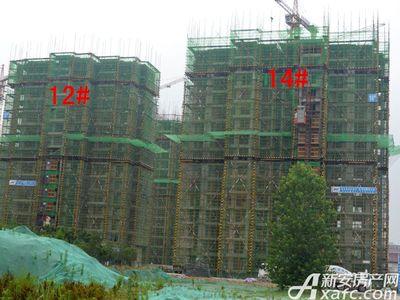 大地凤凰城12#、14#工程进度(2017.6.14)