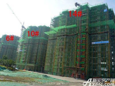 大地凤凰城10#、14#工程进度(2017.6.14)