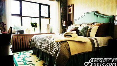 恒大滨江左岸样板间卧室