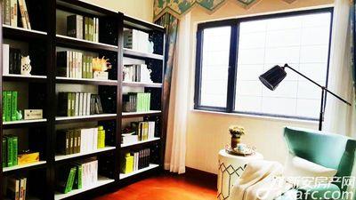 恒大滨江左岸样板间书房