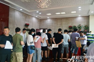 宿州CBD万达广场首期住宅4#楼认筹(2017.6.17)