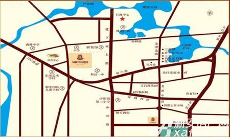 安粮学府花园交通图