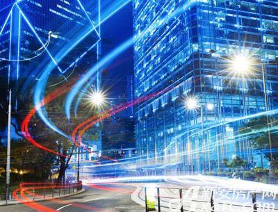 宿州CBD万达广场夜景效果图