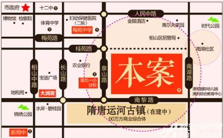 港利上城国际交通图