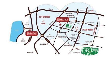 鼎元公馆交通图