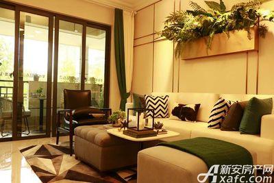 碧桂园•钻石湾108㎡户型客厅