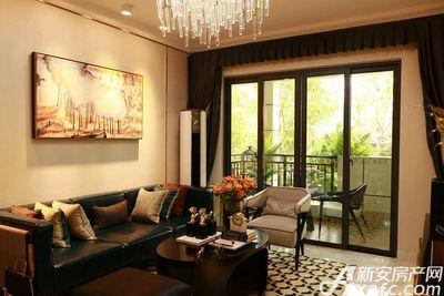 碧桂园•钻石湾118㎡户型客厅