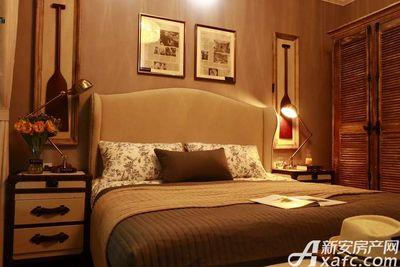 恒大悦龙台127㎡户型卧室