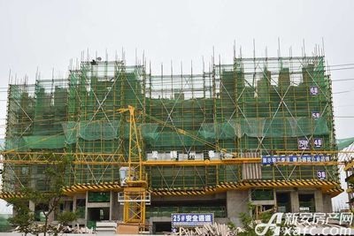 恒大悦龙台25#楼建至6层(2017.6.27)