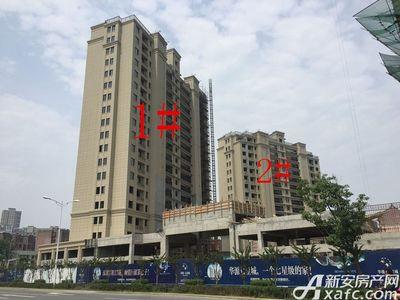 华源七星城1#、2#楼6月进度(2017.6.27)
