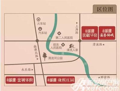 北京城建国誉锦城区位图
