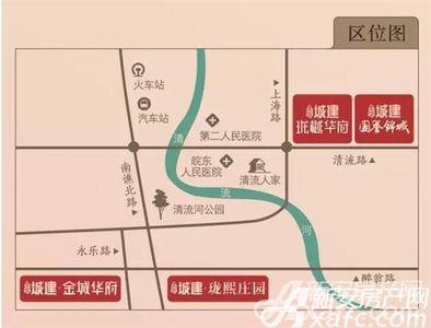 北京城建国誉锦城交通图