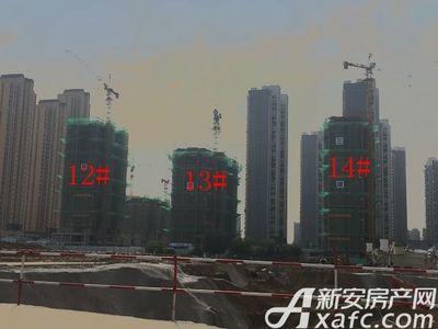 荣盛西湖观邸12-14#工程进度(2017-6)