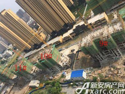 荣盛西湖观邸9-11#工程进度(2017-6)