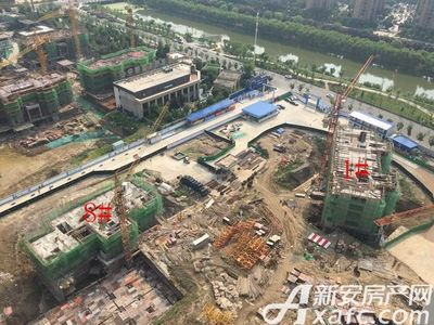 荣盛西湖观邸1#、8#工程进度(2017-6)