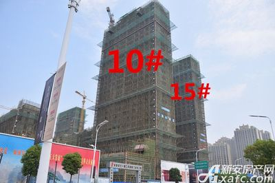 文一豪门金地工程进度图(2017.6.30)