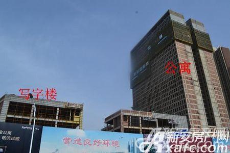 荣盛时代广场工程进度