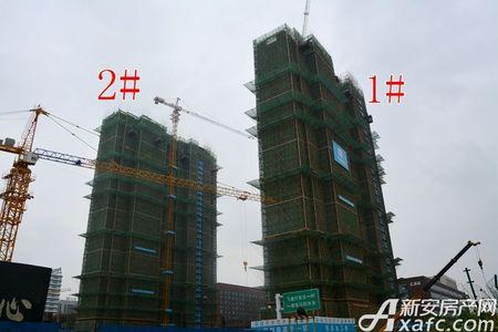 汇景城市中心工程进度