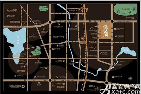 秀山信达城交通图