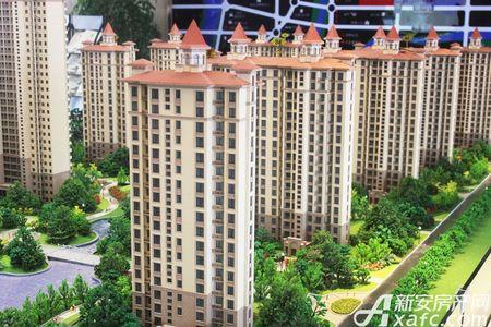 红叶东城花园实景图