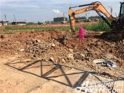鸿坤理想城2017年7月工程进度