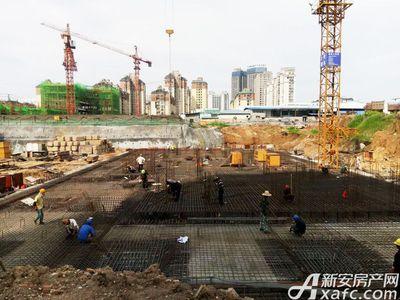 绿地滨江壹号7月工程进度(2017.7.13)