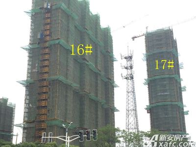 秀山信达城16#17#工程进度(2017.7.13)