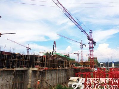 恒大滨江左岸7月工程进度(2017.7.13)