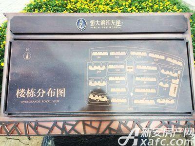 恒大滨江左岸7月工程进度,楼座分布图(2017.7.13)