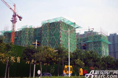 万成·哈佛玫瑰园二期高层16#17#工程进度(2017.7)