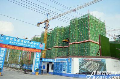 万成·哈佛玫瑰园二期高层18#工程进度(2017.7)