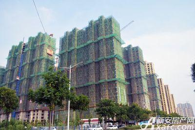 万成·哈佛玫瑰园一期高层工程进度(2017.7)