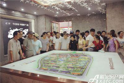 淮北碧桂园城市展厅公开20170716