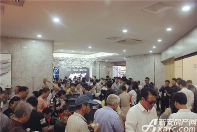 淮北碧桂园城市展厅开放20170716