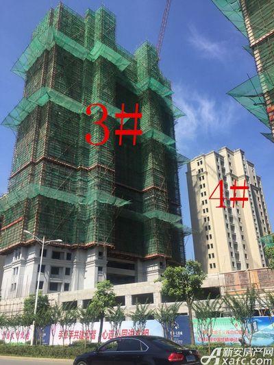 华源七星城3#、4#楼7月进度(2017.7.20)