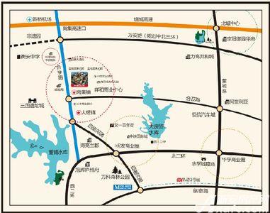 祥和公馆交通图