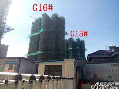 高速铜都天地G15#、G16#楼栋进度(2017.7.24)