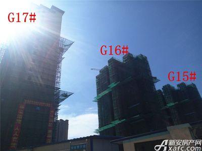 高速铜都天地G15#—G17#项目进度(2017.7.24)