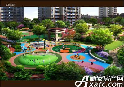 北京城建珑樾华府配套公园效果图