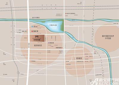 宿州碧桂园区位图